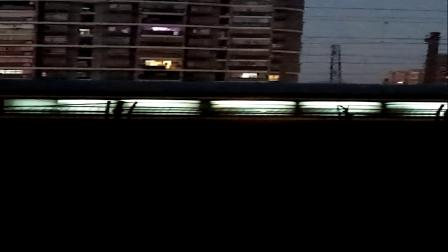 HXD1C0830-旅游专列Y466次 桂林北-太原 新余3站台6道发车 经典大绿皮 25B太局原段