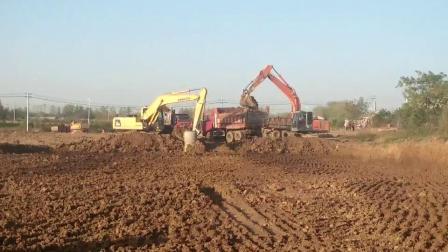 挖掘机挖土《傲血家族》上传