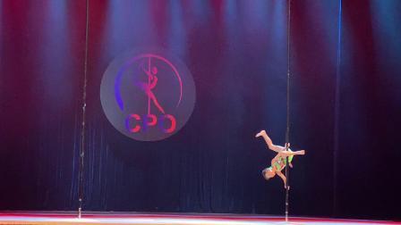 2018中国钢管舞公开赛少儿组-冠军 王泽涛 邹文舞
