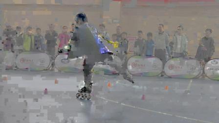 2018全国中小学轮滑锦标赛 深圳市新华中学 李佳瑞