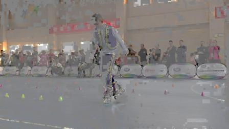 2018全国中小学轮滑锦标赛 深圳市新华中学 谢剑腾