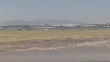 温州机场起飞实录!