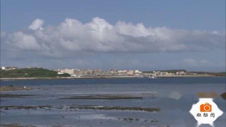 2820 美丽海湾碧海蓝天 海滨海岛 海边风景 高清视频实拍素材 22秒