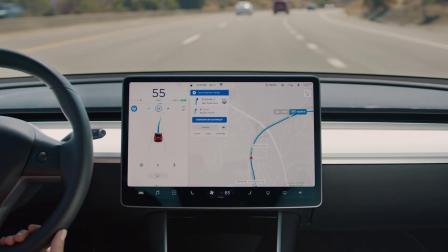 Model 3 Support - Navigate on Autopilot