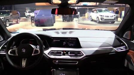 巴黎车展实拍2019 BMW X5 M50d xDrive