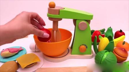 亲子早教动画 厨房里和小朋友们一起学做汉堡包
