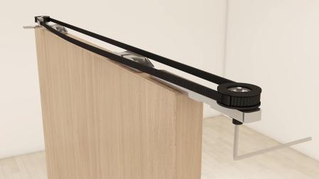SLY-FG802T系列同步同向推拉门安装视频
