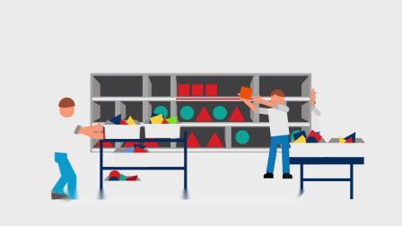 霍尼韦尔播种墙技术助力零售商实现准确高效的订单整合