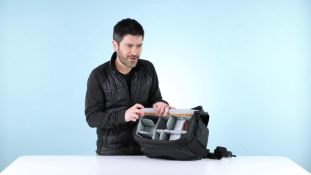 乐摄宝新星200相机单肩包使用演示