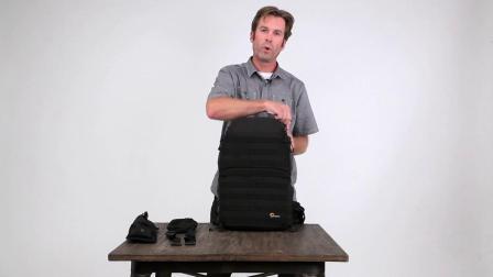 乐摄宝金刚系列一代双肩包使用演示