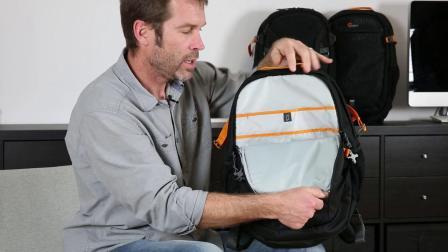 乐摄宝山脊线系列双肩包使用演示