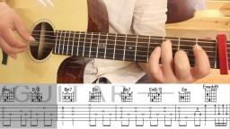 毛不易 不染 唯音悦原版简单吉他弹唱教学吉他教程