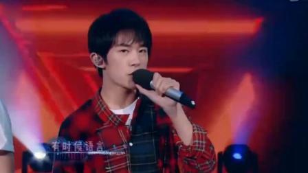 TFBOYS同台献唱,王俊凯出场太帅,嗨翻全场