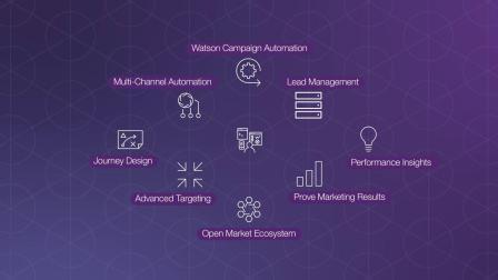 IBM Watson 营销自动化