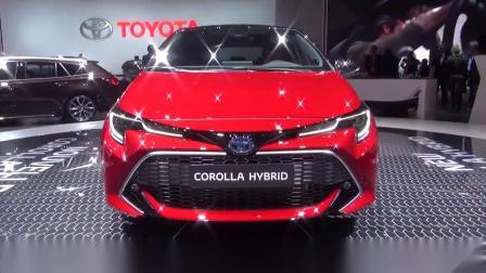 动力强油耗低性价比高,2019丰田卡罗拉混动版实拍
