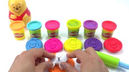儿童玩具-学习颜色和小熊维尼杯嵌套