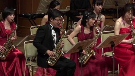Maurice Ravel - Ma Mère l'Oye, Le jardin féerique, Mi-Bémol Saxophone Ensemble