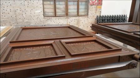 河南郑州市学校电动悬浮折叠门