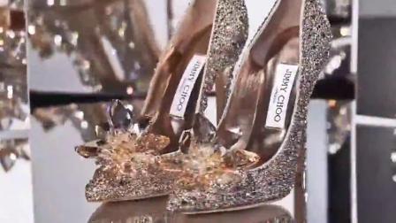 Jimmy Choo皇室尊贵水晶高跟鞋,哪个女人见了不心动?