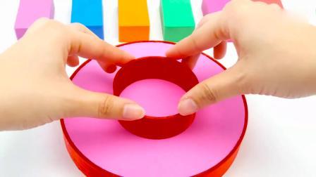 亲子早教动画 和小朋友们一起快乐分享彩色太阳花蛋糕