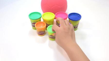 亲子早教动画 太空沙DIY可爱的彩虹章鱼模型 趣味学习