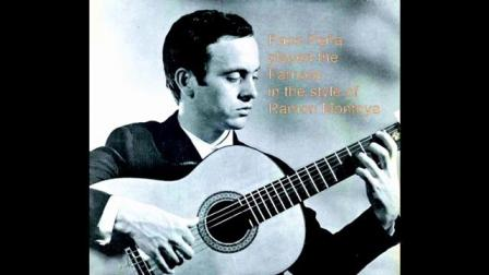 Paco Peña played the Farruca in the style of Ramon Montoya