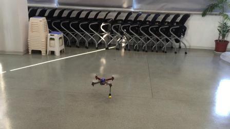 无人机替代无人船室内测试