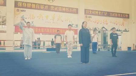 2018年湖南省太极八法五步骨干教练员培训表演