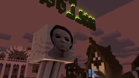我的世界动画-怪物学院-万圣节恐怖挑战-iCraft