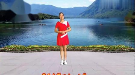 小慧广场舞《最真的梦》零基础16步,动作简单优美附分解口令