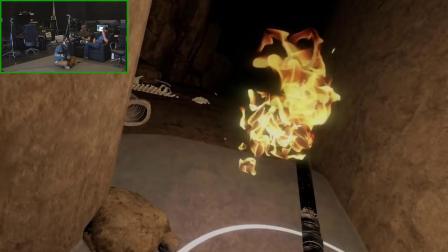 职业玩家试玩VR游戏《The Exorcist:Legion VR》