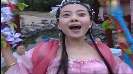 秦王李世民传奇,若惜公主荡秋千,不慎摔落下来