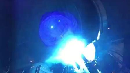 德平科技16英寸全自动焊盖面焊视频(壁厚10.6mm)