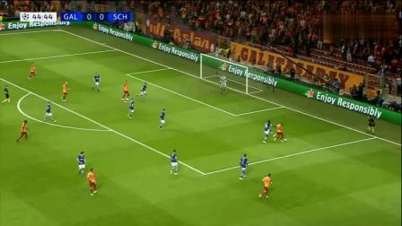 欧冠:恩博洛进球无效 沙尔克0-0客场加拉塔萨雷