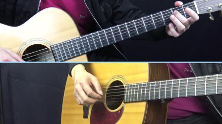 《女儿情》西游记插曲深蓝雨吉他弹唱和独奏讲解教学