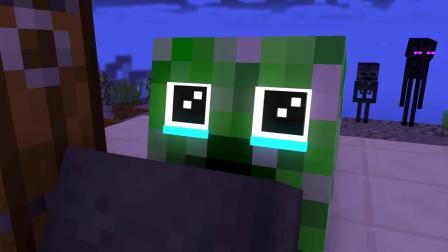 我的世界动画-凋灵骷髅是玩不给糖就捣蛋的高手-Craftronix