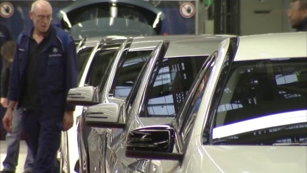 奔驰A级汽车生产全过程 Mercedes A-Class Production line_超清