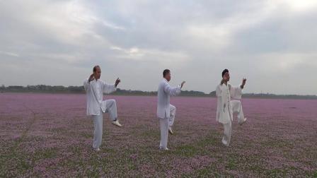 都昌周溪鄱阳湖花海28式太极拳学练