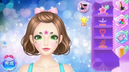 巴啦啦小魔仙之奇迹舞步彩绘美妆小游戏 巴啦啦今天妆容是什么.
