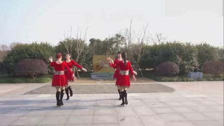 广场舞教学视频《情人桥》双人舞,美美哒!