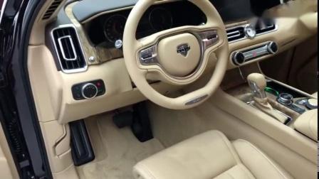 俄罗斯汽车Aurus Senat在莫斯科国际汽车沙龙向公众展示!