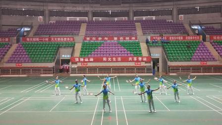 2018晋中市中小学生柔力球赛小学组《小苹果》灵石县第一小学