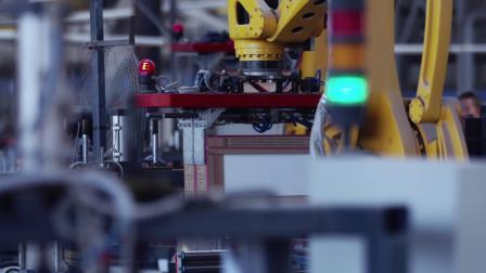 埃斯顿ER系列工业机器人陶瓷行业应用-成品瓷片码垛