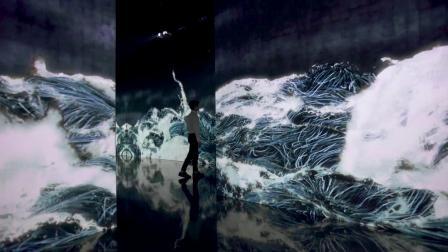 千住 博 & チームラボ コラボレーション展「水」
