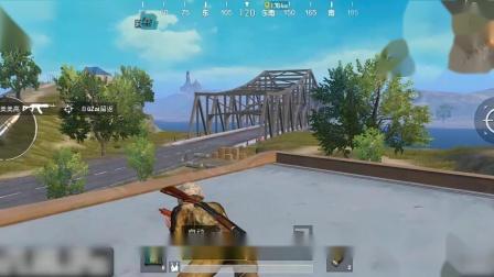刺激战场:最佳堵桥的地方竟然不是在桥上?海岛图跳机场这么玩稳吃鸡!