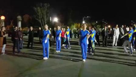 中国新时代有氧健身操二套浙江玉环支队演绎