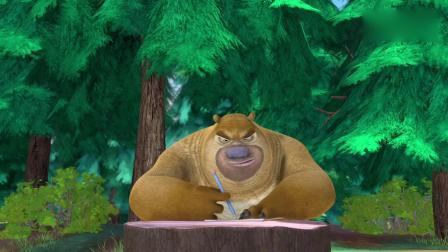 亲子早教动画 熊出没之夏日连连看 吉吉国王看了熊二的漫画做了一夜噩梦