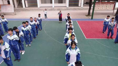 20181106金城江区二中大课间航拍002