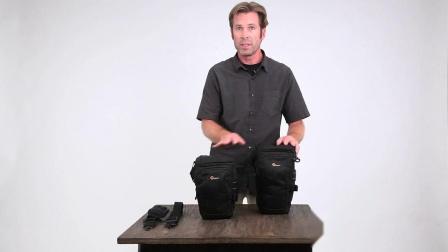 乐摄宝专业相机三角包使用演示