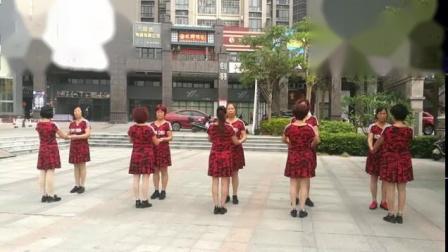 广场舞《情人桥》双人舞简单易学,一看就会